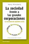 LA SOCIEDAD FRENTE A LAS GRANDES CORPORACIONES. LA NECESIDAD DEL EQUILIBRIO SOCIAL