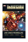 EL INVENCIBLE IRON MAN. LAS CINCO PESADILLAS  (MARVEL DELUXE). NUEVA EDICION