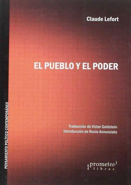 EL PUEBLO Y  EL PODER