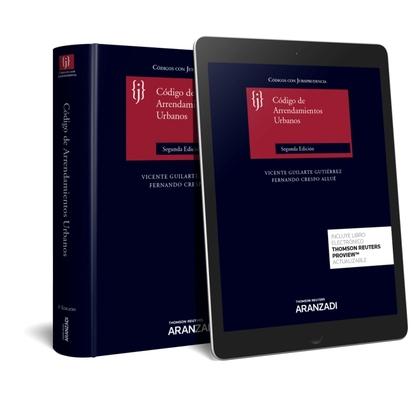 CÓDIGO DE ARRENDAMIENTOS URBANOS CON JURISPRUDENCIA (PAPEL + E-BOOK).