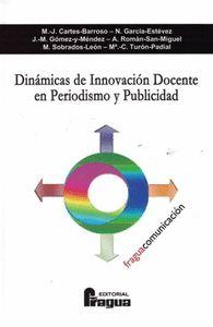 DINÁMICA DE INNOVACIÓN DOCENTE EN PERIODISMO Y PUBLICIDAD.