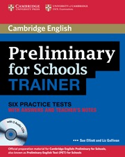 PREL SCHOOLS TRAINER BK KEY/CD