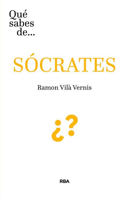¿QUÉ SABES DE SOCRATES?.