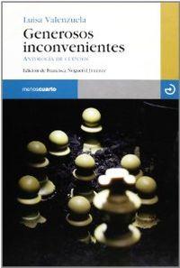 GENEROSOS INCONVENIENTES : ANTOLOGÍA DE CUENTOS