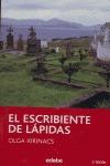 EL ESCRIBIENTE DE LÁPIDAS.