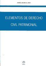 ELEMENTOS DE DERECHO CIVIL PATRIMONIAL.