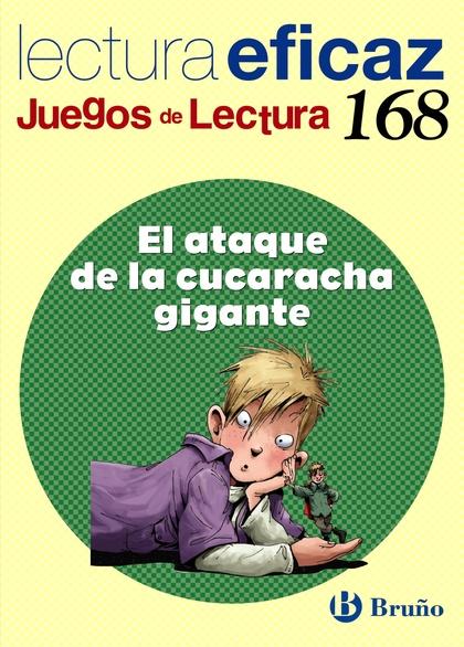 JUEGO DE LECTURA, EL ATAQUE DE LA CUCARACHA GIGANTE, EDUCACIÓN PRIMARIA, 3 CICLO. CUADERNO