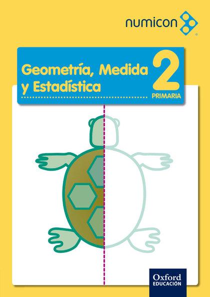 NUMICON 2.º PRIMARIA GEOMETRIA CUADERNO DE EJERCICIOS PACK 25.