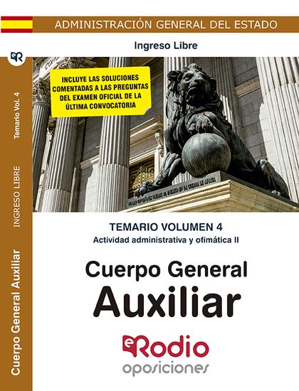 CUERPO GENERAL AUXILIAR. EJERCICIO PRÁCTICO. PROCE