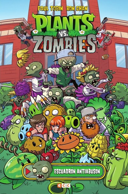PLANTS VS. ZOMBIES: ESCUADRÓN ANTIABUSÓN.