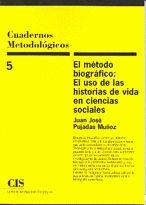 EL METODO BIOGRAFICO USO DE LAS HISTORIAS VIDA EN CC SS