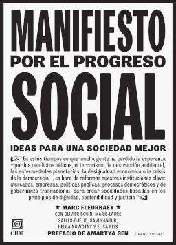 MANIFIESTO POR EL PROGRESO SOCIAL.