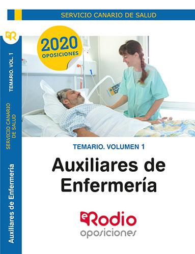 TEMARIO. VOLUMEN 1. AUXILIARES DE ENFERMERÍA. SERVICIO CANARIO DE SALUD.