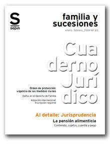 LA PENSIÓN ALIMENTICIA : CONTENIDO, SUJETOS, CUANTÍA Y PAGO