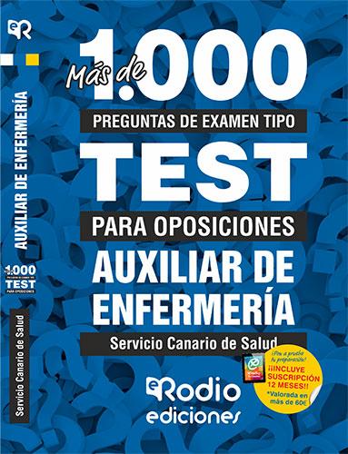 AUXILIARES DE ENFERMERÍA.  MÁS DE 1.000 PREGUNTAS