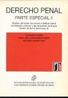 DERECHO PENAL PARTE ESPECIAL II