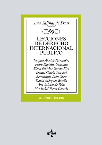 LECCIONES DE DERECHO INTERNACIONAL PÚBLICO.