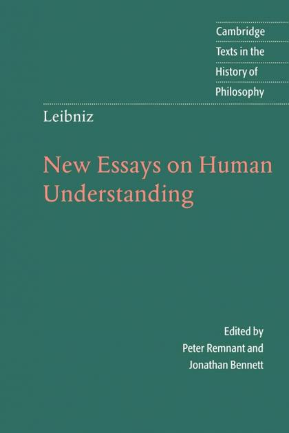 LEIBNIZ. NEW ESSAYS ON HUMAN UNDERSTANDING