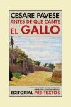 ANTES DE QUE CANTE EL GALLO