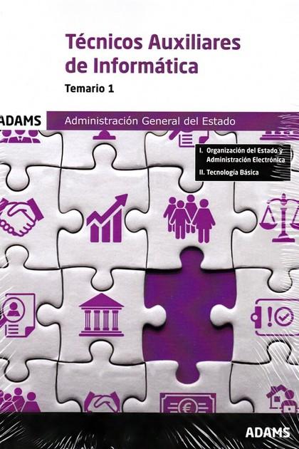 TEMARIO 1 TECNICOS AUXILIARES DE INFORMATICA AGE 2.