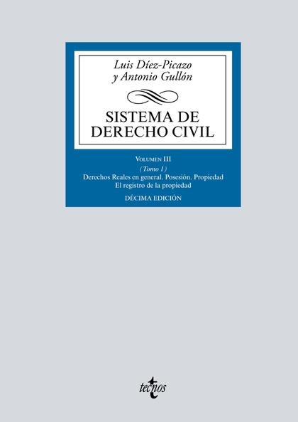 SISTEMA DE DERECHO CIVIL                                                        VOLUMEN III (TO