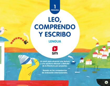 1EP.PACK LENGUA-LEO,COMPRENDO Y ESCRIBO