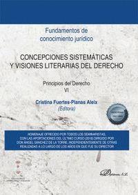 CONCEPCIONES SISTEMÁTICAS Y VISIONES LITERARIAS DEL DERECHO                     PRINCIPIOS DEL