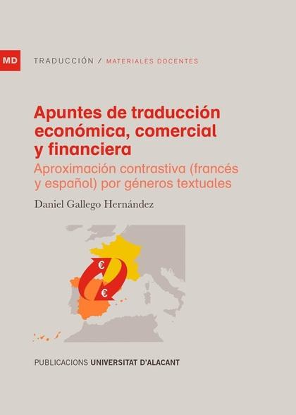 APUNTES DE TRADUCCIÓN ECONÓMICA, COMERCIAL Y FINANCIERA                         APROXIMACIÓN CO