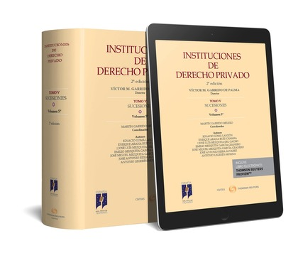 INSTITUCIONES DE DERECHO PRIVADO T.V SUCESIONES VOL.5 DUO.