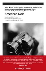 AMERICAN NOIR. EDICIÓN DE OTTO PENZLER. INTRODUCCIÓN DE JAMES ELLROY. TRADUCCIÓN DE ENRIQUE DE