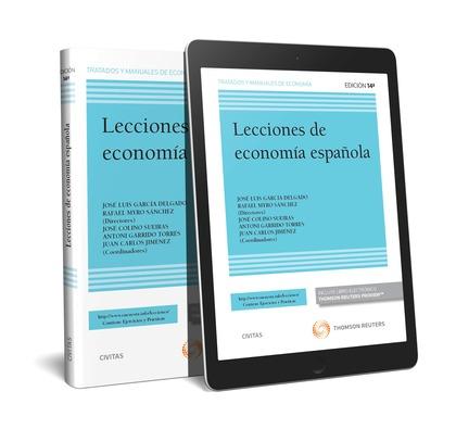 LECCIONES DE ECONOMIA ESPAÑOLA DUO.