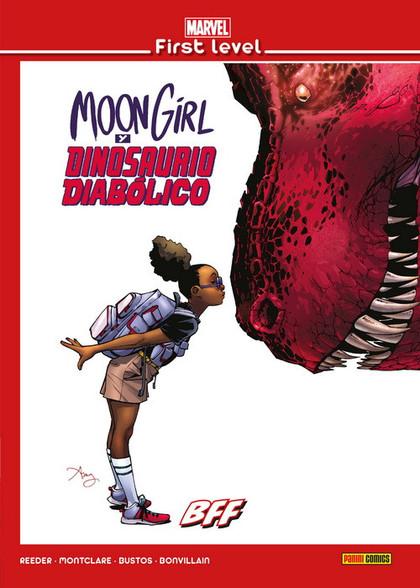 MARVEL FIRST LEVEL 14: MOON GIRL Y DINOSAURIO DIABOLICO BFF.