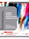 CUERPO TÉCNICO. ESPECIALIDAD TRABAJO SOCIAL. JUNTA DE COMUNIDADES DE CASTILLA LA. JUNTA