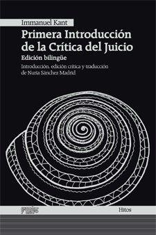 PRIMERA INTRODUCCIÓN DE LA CRÍTICA DEL JUICIO