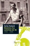 MEMÒRIES D´UN CARTELLISTA DEL 36, (1931-1939)