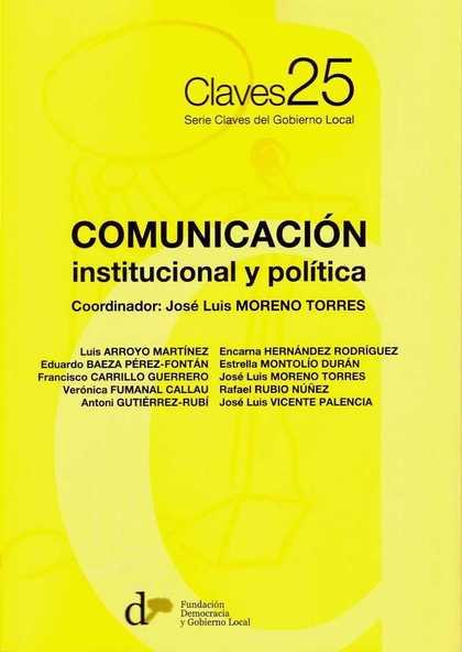 COMUNICACIÓN INSTITUCIONAL Y POLÍTICA.