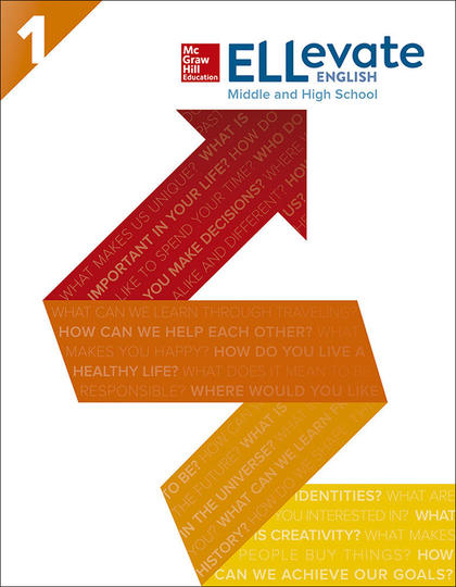 ELLEVATE ENGLISH: MIDDLE AND HIGH SCHOOL STUDENT BOOK LEVEL 1