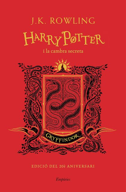 HARRY POTTER I LA CAMBRA SECRETA (GRYFFINDOR)
