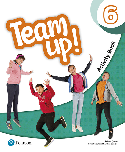 TEAM UP! 6 ACTIVITY BOOK.
