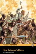 PENGUIN READERS 4: KING SOLOMONS MINE BOOK & CD PACK