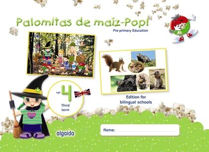 PALOMITAS DE MAÍZ-POP!. PRE-PRIMARY EDUCATION. AGE 4. THIRD TERM.