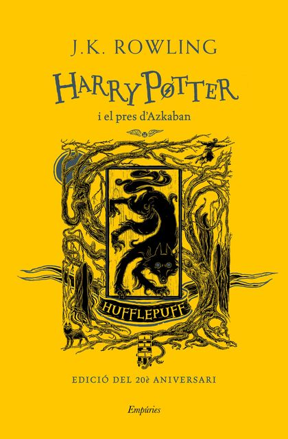 HARRY POTTER I EL PRES D´AZKABAN (HUFFLEPUFF).