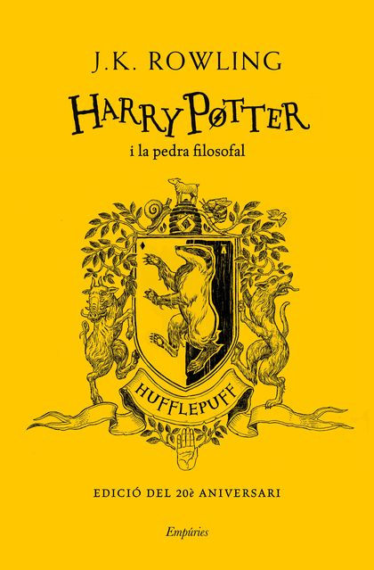 HARRY POTTER I LA PEDRA FILOSOFAL (HUFFLEPUFF) TD.