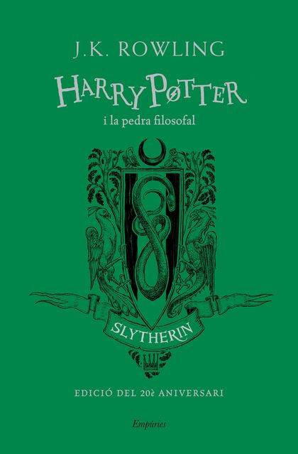 HARRY POTTER I LA PEDRA FILOSOFAL (SLYTHERIN) TD.
