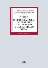 CURSO ELEMENTAL DE DERECHO DEL TRABAJO Y LA SEGURIDAD SOCIAL
