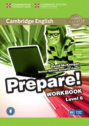 PREPARE! 6 WORKBOOK WITH ONLINE AUDIO