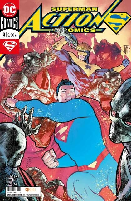 SUPERMAN: ACTION COMICS NÚM. 09 (RENACIMIENTO).
