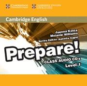 CAMBRIDGE ENGLISH PREPARE LEVEL 1 CLASS AUDIO CDS (2)