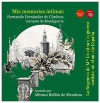 MIS MEMORIAS INTIMAS III: REGENCIA DE Mª CRISTINA Y GUERRA CARLISTA SUR ESPAÑA. ANOTADO POR ALF