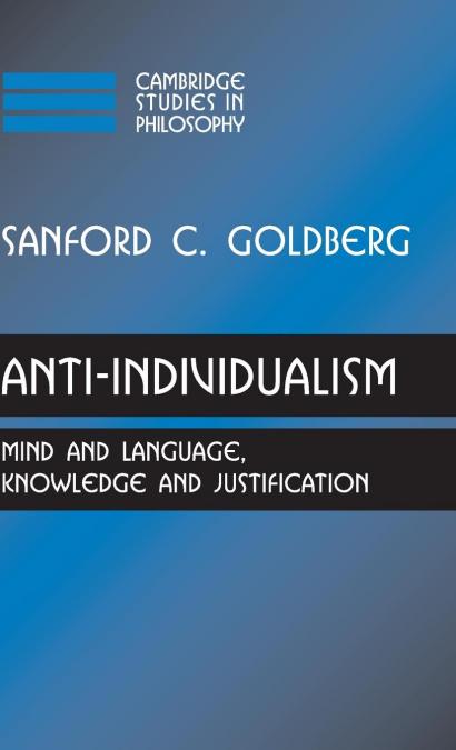 ANTI-INDIVIDUALISM